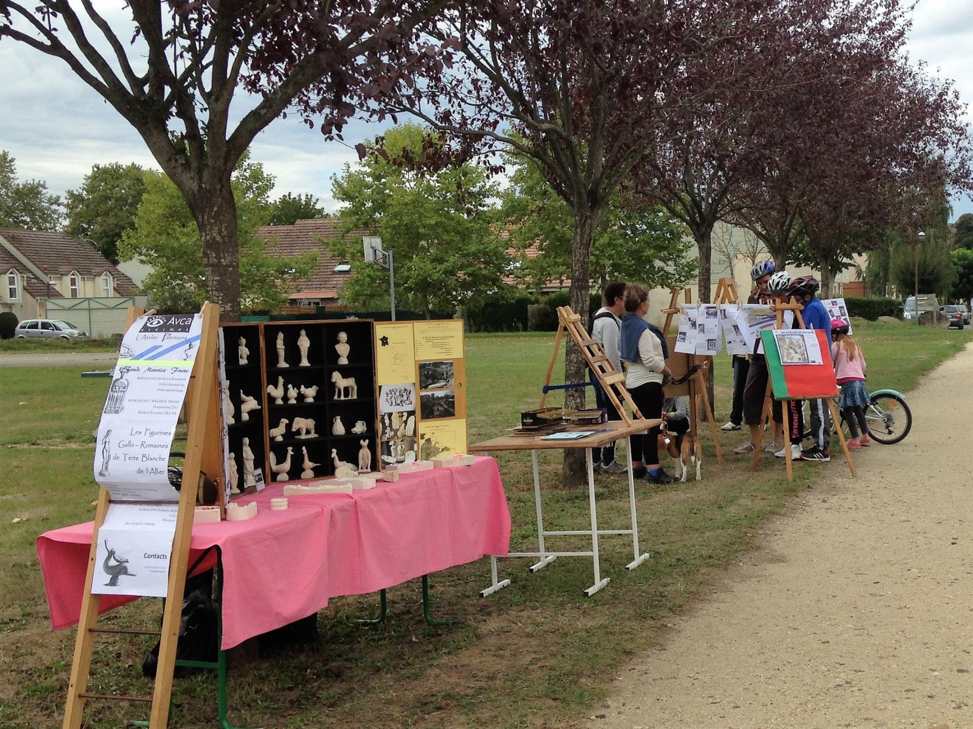 Rallye associatif, parc du Chambonnage, Avermes