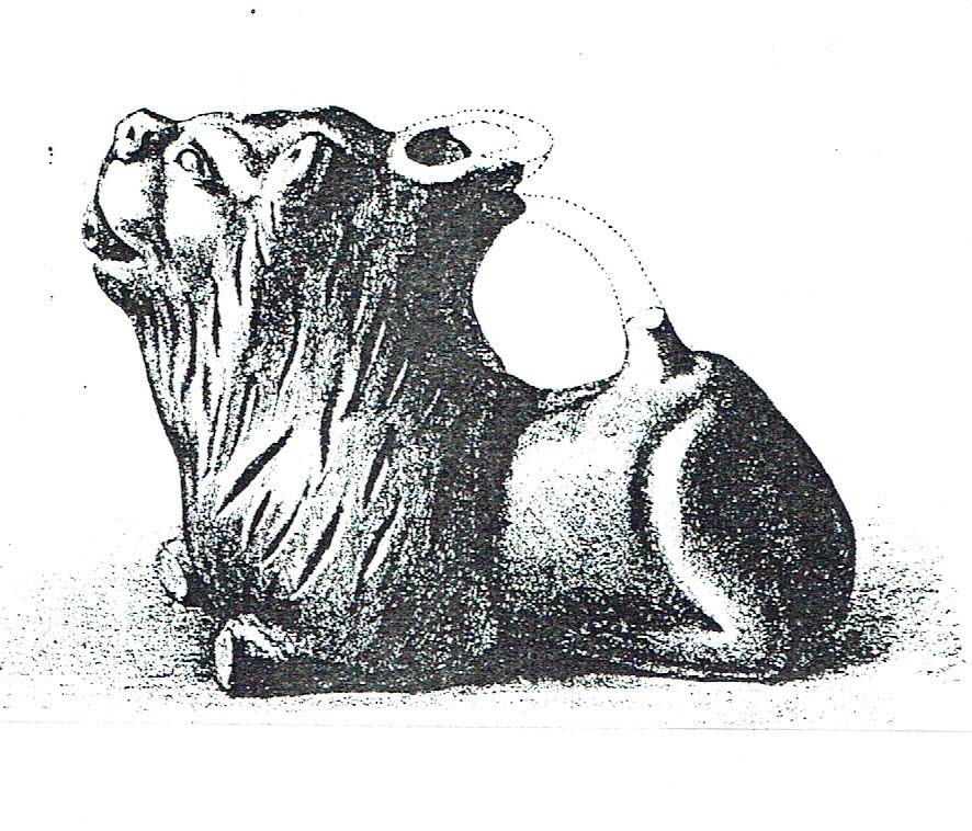 Lion couche