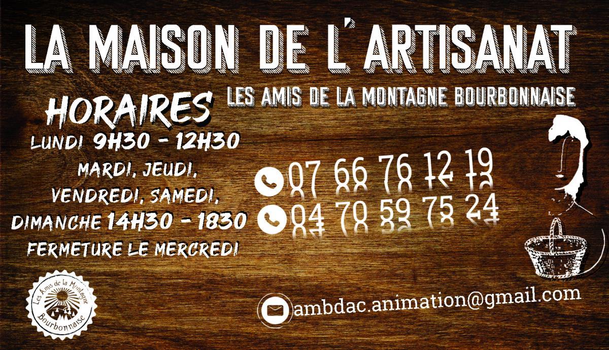 Maison de l artisanat les amis de la montagne bourbonnaise