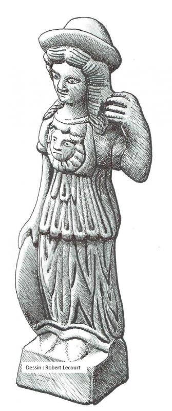 Minerve de face dessin robert lecourt page 0002